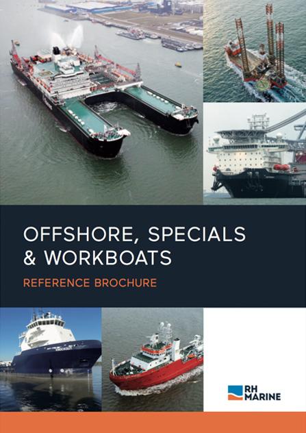 RH Marine Netherlands - Reference brochure