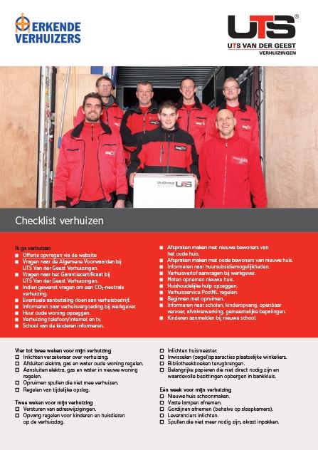 UTS Checklist