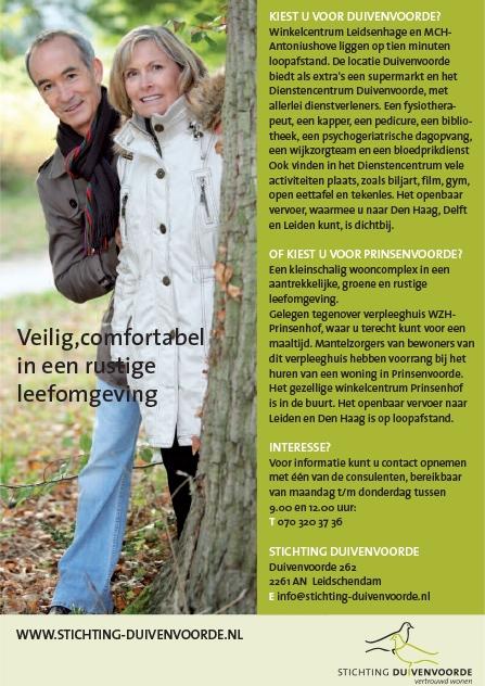 Stichting Duivenvoorde leaflet